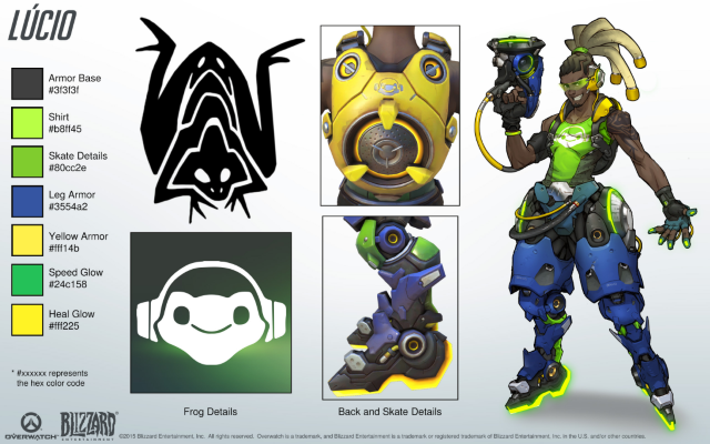 Lucio Reference Kit Concept Art