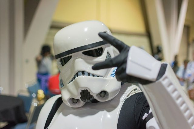 Stormtrooper Peace Sign