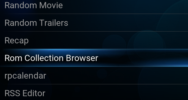 Installing Kodi ROM Collection Browser