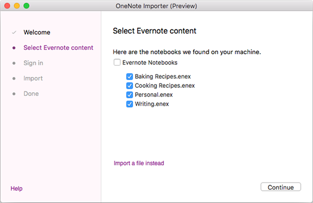 onenote-importer-mac-step-2