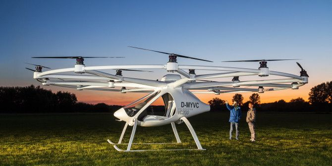 Forget Flying Cars: Passenger Drones Are Almost Here