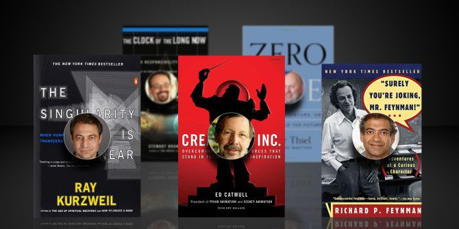11 Geeky Books Recommended by Tech Influencers