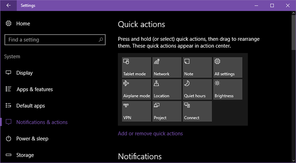 windows-10-anniversary-action-center