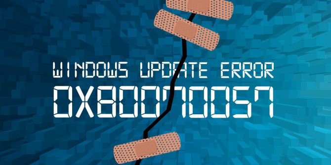 How to Fix Windows Update Error 0x80070057