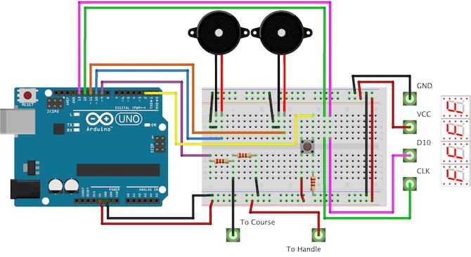 Arduino Buzzwire Full Circuit