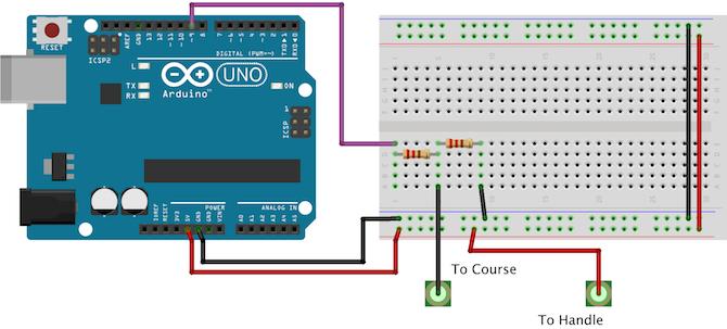 Arduino Buzzwire Circuit