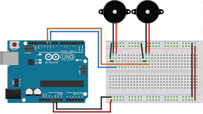 Arduino Piezo Circuit
