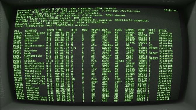 Cathode Mac Terminal Example Screenshot