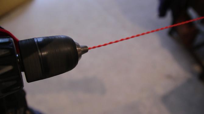 Drill Chuck Wire Twisting