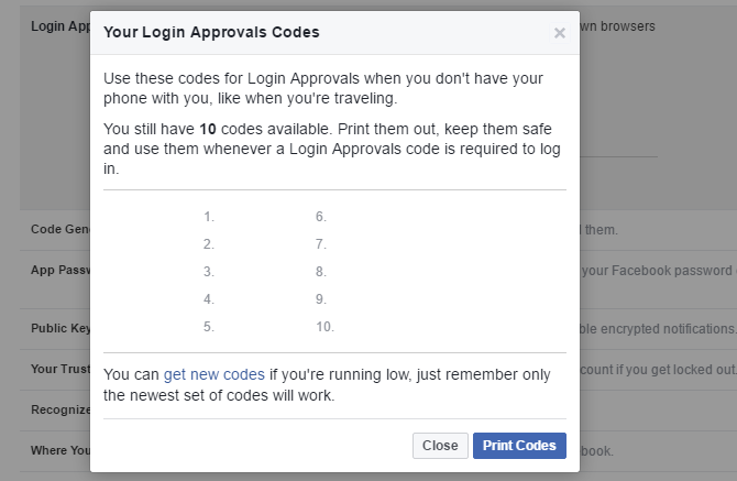 How to log into facebook if you have lost access to code generator facebook login approvals codes ccuart