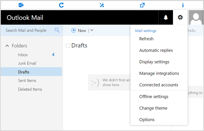 Outlook Opera Extensions