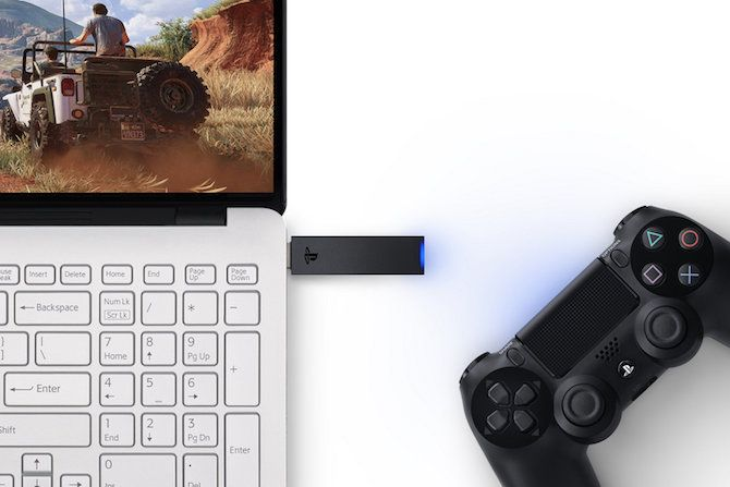 PlayStation Now Dualshock USB Wireless Adapter Controller