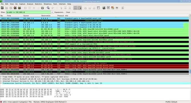 Wireshark in Use Example