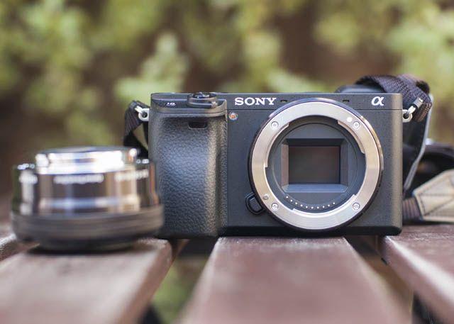 Sony A6300 Sensor Shot