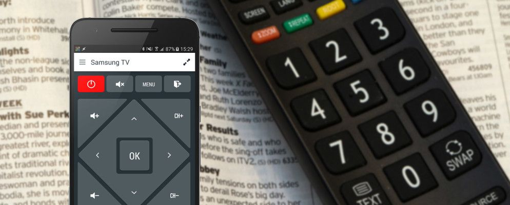 How to Control Your TV With Your Android Phone or Tablet