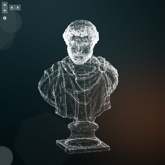 Hologram of Antonius Pius