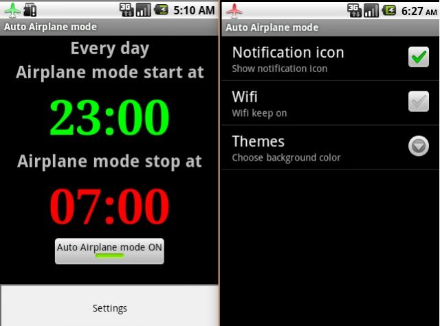 Auto Airplane Mode App Android