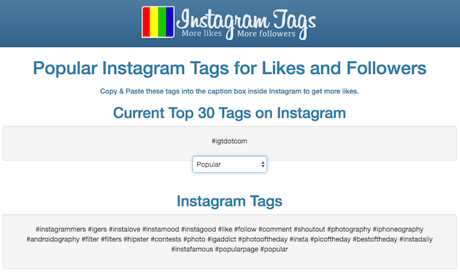 Best Instagram Tools InstagramTags