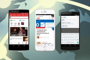 5 Mini Browsers For Mobile Phones