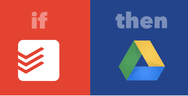 IFTTT Recipe Completed Tasks Google Spreadsheet