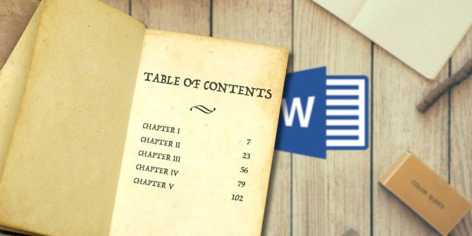 How to Create a Table of Contents in Word & Free Templates
