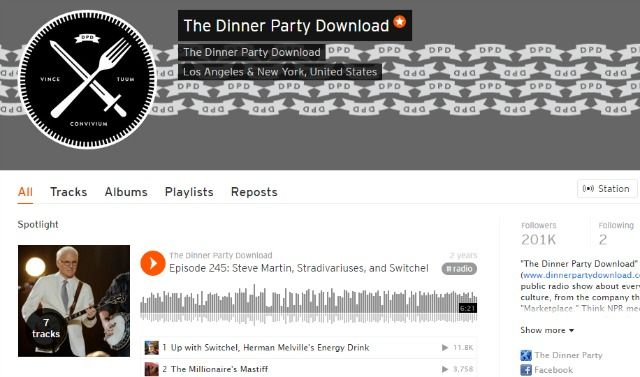 Dinner Party Podcast on SoundCloud