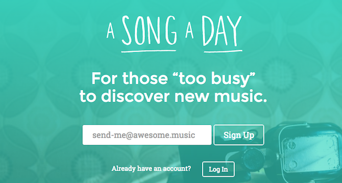 Discover New Music -- A Song A Day