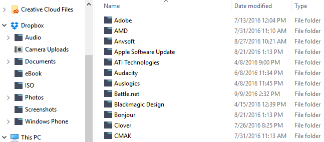 Folder Icons After in Windows 10