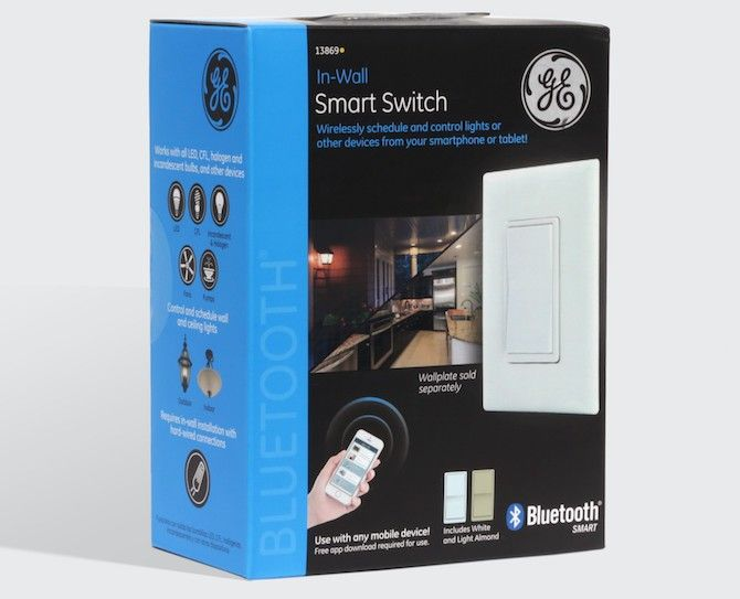 GE In-Wall Smart Switch