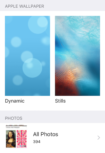 iPhone Wallpapers Dynamic and Still