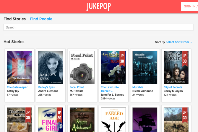 Serial Reading App JukePop
