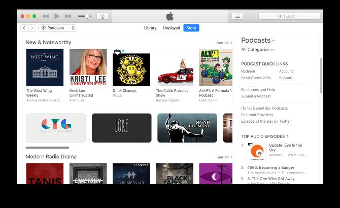 mac default app itunes