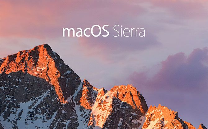 MacOS Sierra Background