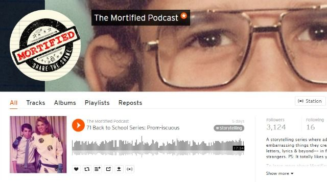 Mortified Podcast on SoundCloud