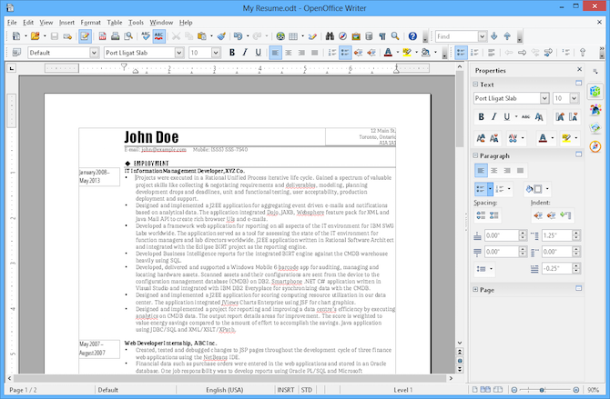 8 Free Open Source Windows Apps That Used to Be Proprietary openoffice writer