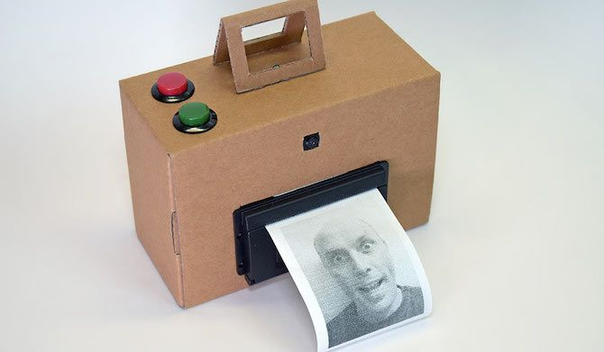 Raspberry Pi Camera Instant Polaroid