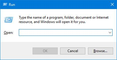 Run Prompt on Windows 10