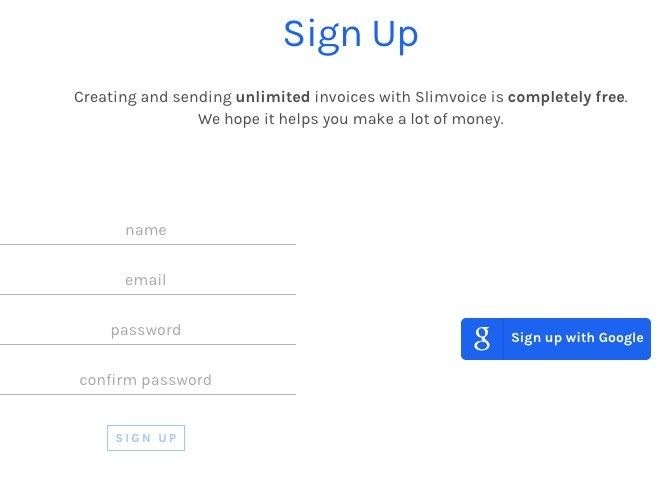 Sign Up to Services Using Google