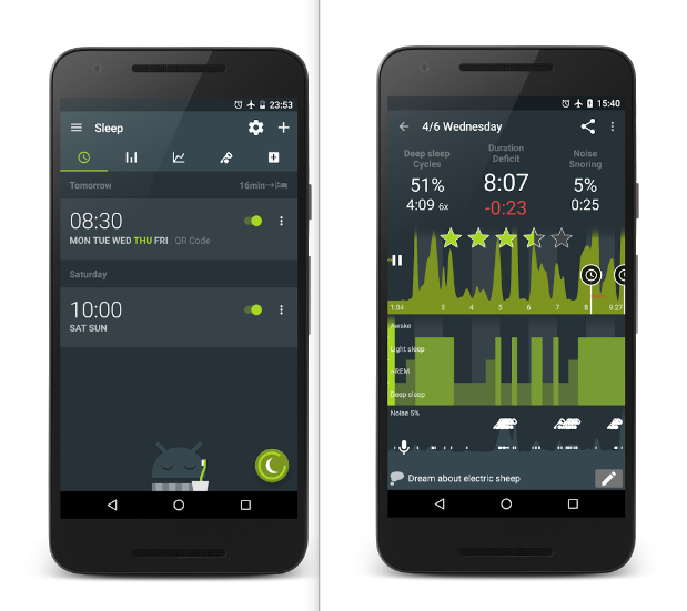 Sleep as Android Mobile App