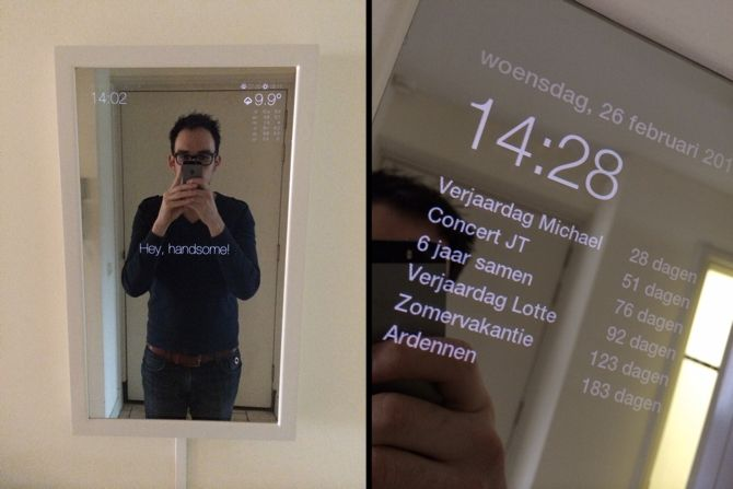 Smart Mirrors Raspberry Pi MagicMirror 2