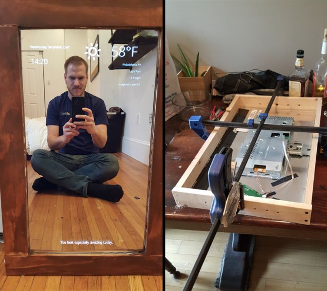 Smart Mirrors Raspberry Pi MirrorMirror