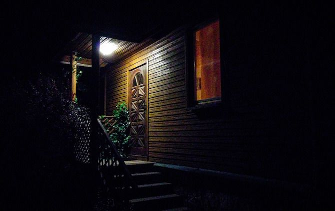 Smart Motion Sensors Front Porch Light
