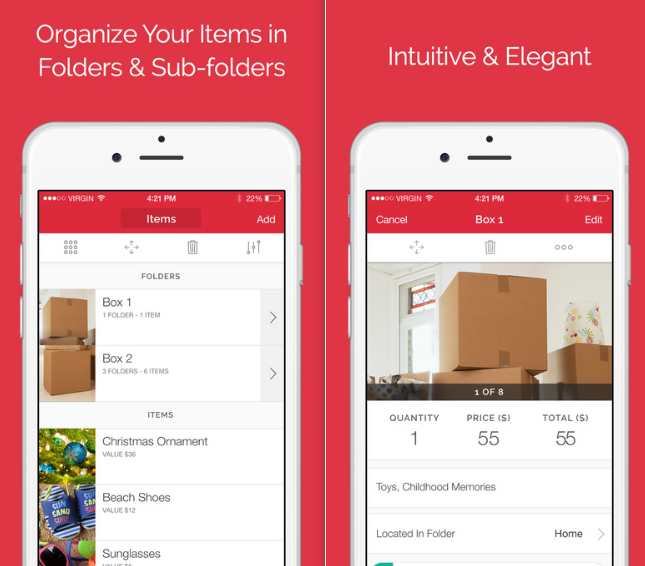 Home Organization Sortly