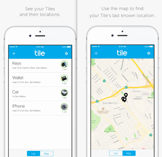 Track Your Stuff With Tile Mobile App