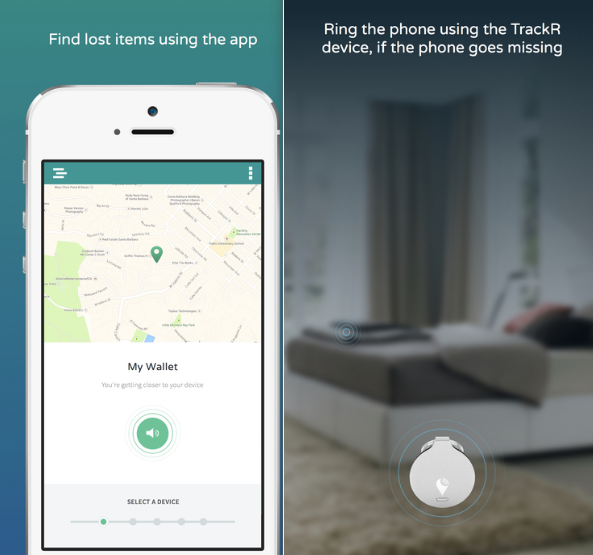 Find Your Stuff With TrackR Mobile App