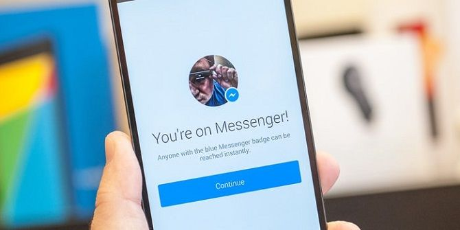 Facebook Messenger on Mobile