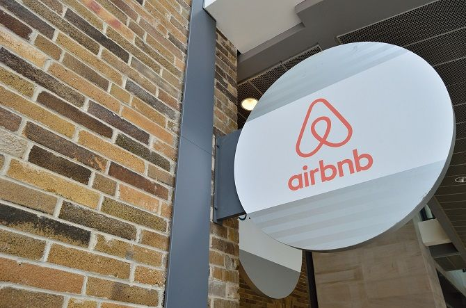 Airbnb Office Sign