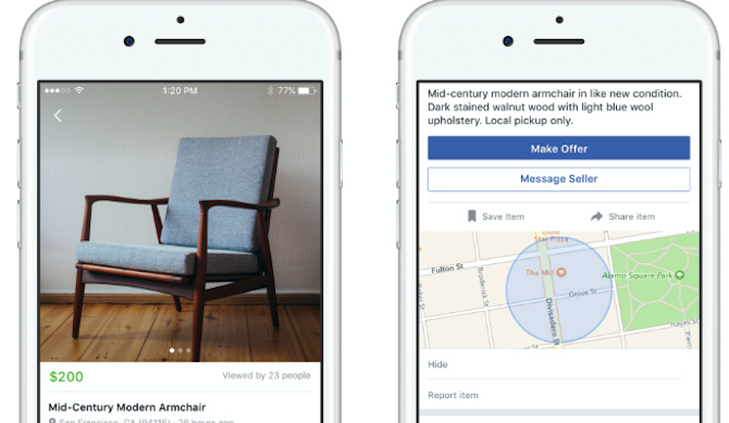 Facebook Tricks and Features -- Marketplace
