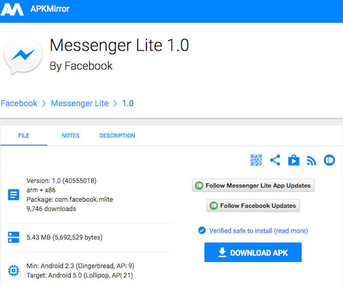 Facebook Messenger Lite Is The App We Ve All Been Waiting For