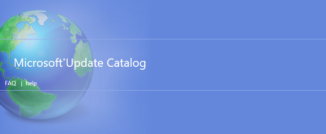 Microsoft Update Catalog